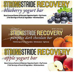 Strong Stride Recovery Bars