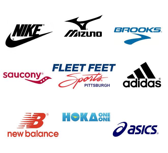 Fleet Feet Sports Pittsburgh Shoe Brands